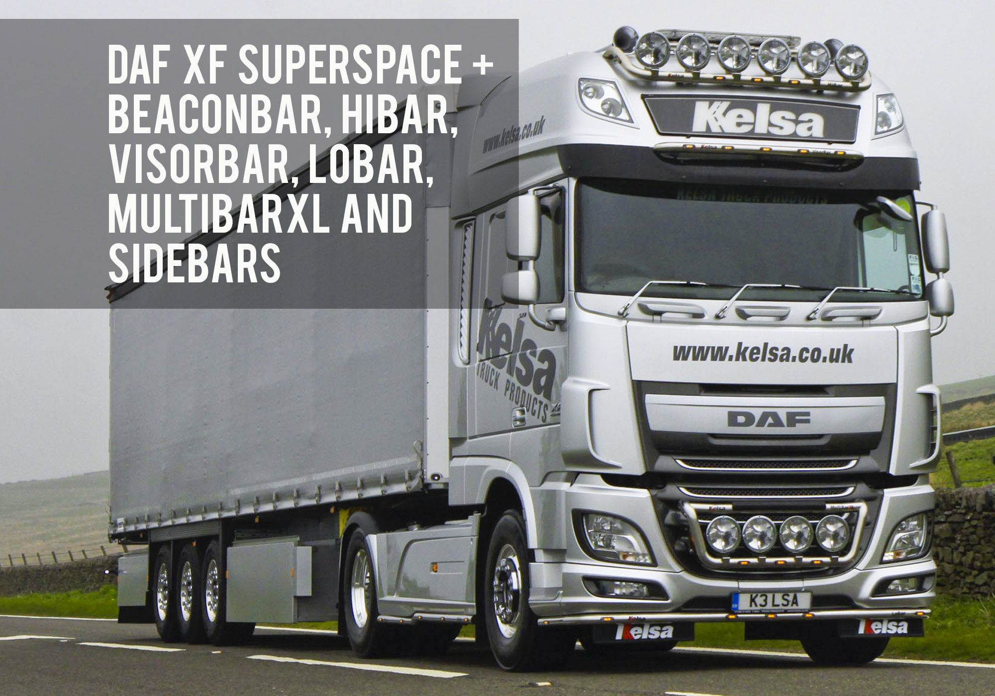 Kelsa High Quality Light Bars Accessories For The Trucking Lightning Amp Wiring Diagram Welcome To Truck Products In Peak District Of Derbyshire England