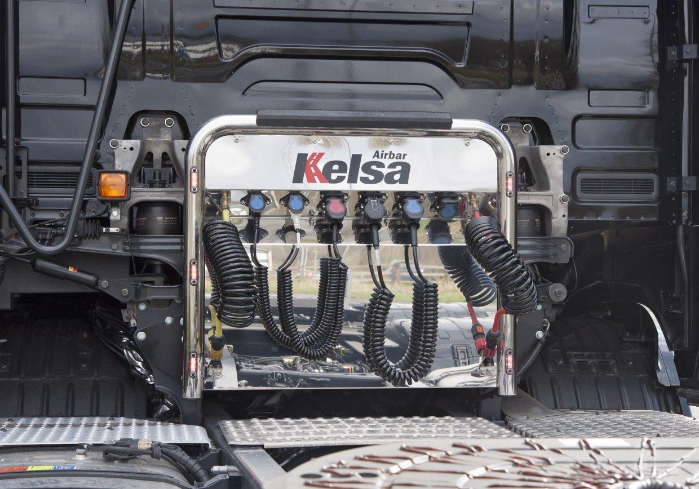 Nerezový rám Kelsa AirBar pro  Scania Next Generation R&S Vysoká kabina