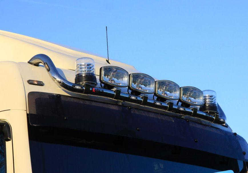 Střešní nerezový rám Kelsa HiBar pro  Man TGX Euro6 XLX