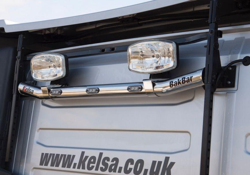 Zadní nerezový rám Kelsa BakBar pro  Volvo FH 2013-2020 Globetrotter