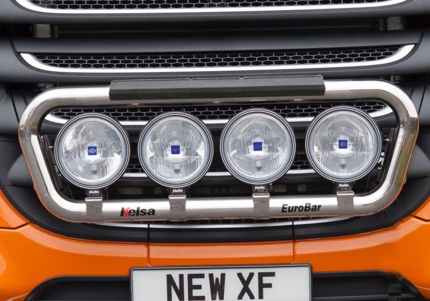 Přední nerezový rám Kelsa EuroBar pro  DAF XF106 Facelift Superspace