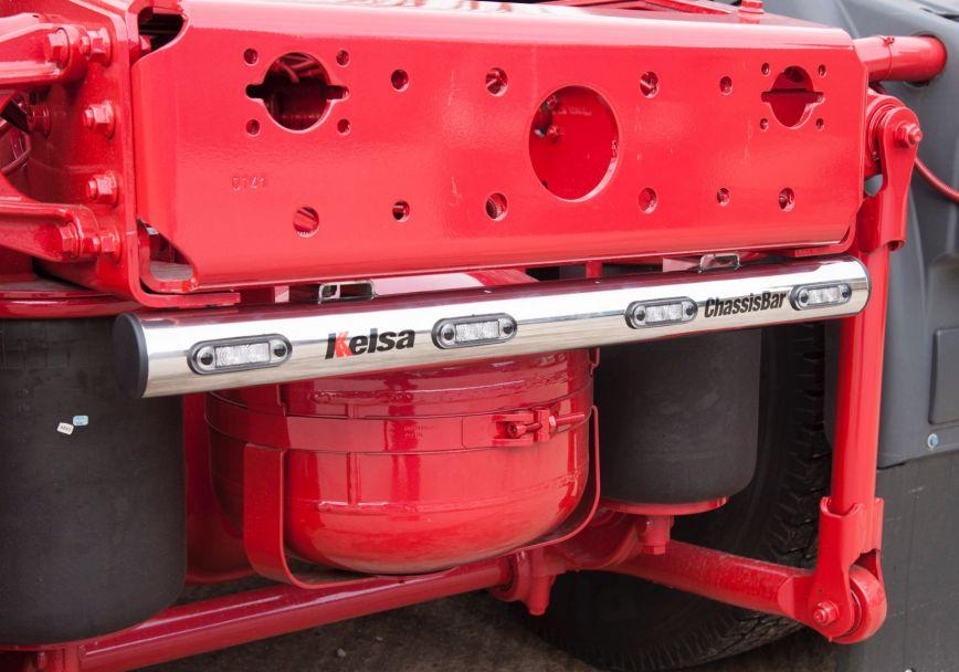 Zadní nerezový rám Kelsa ChassisBar pro  Man TGX XL