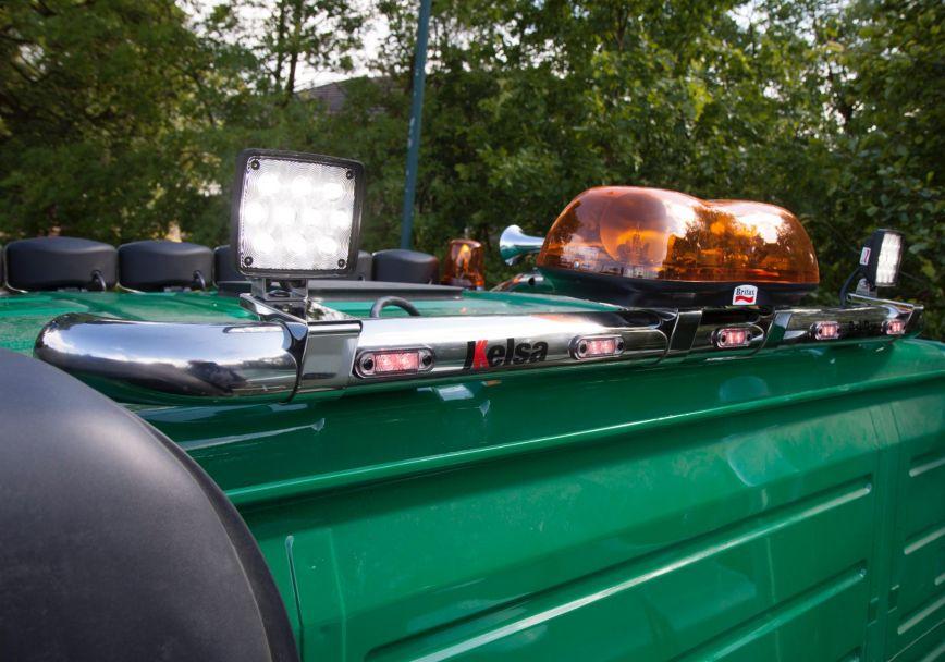 Zadní nerezový rám Kelsa BakBar Standard pro  Volvo FM Euro6 Globetrotter