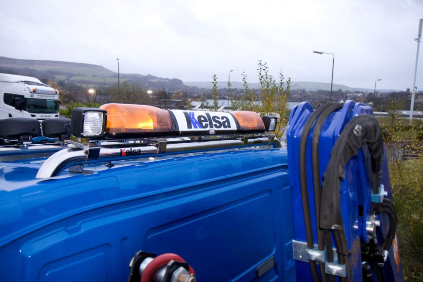Zadní nerezový rám Kelsa BakBar pro  Man TGL/TGM M a L kabina