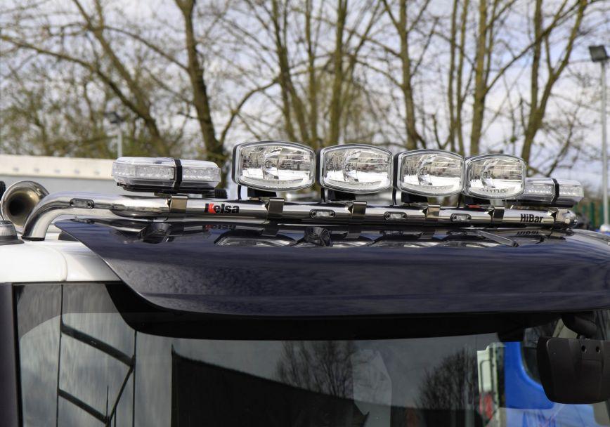 Střešní nerezový rám Kelsa HiBar pro  Renault C Range Construction