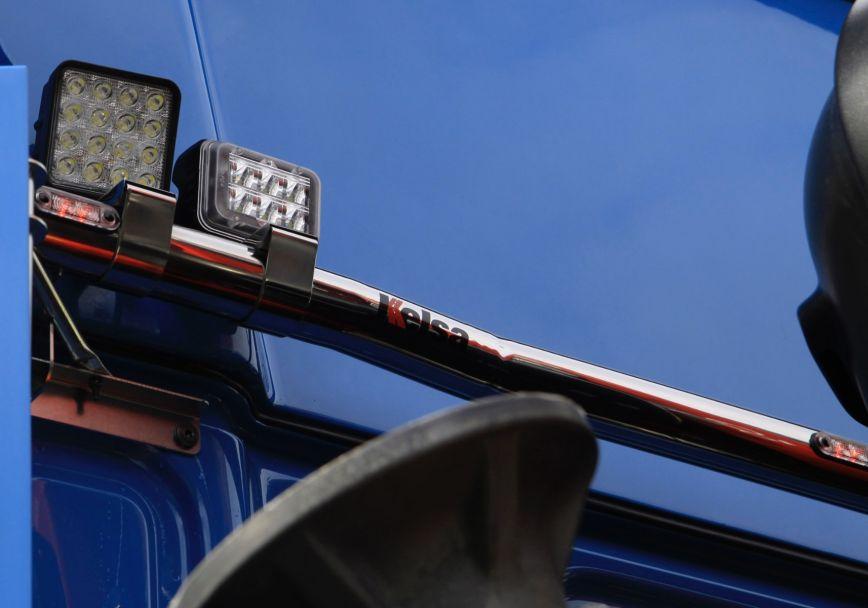 Zadní nerezový rám Kelsa BakBar pro  DAF XF106 Facelift Superspace