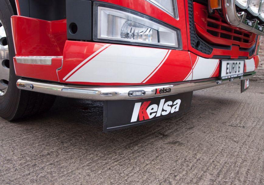 Nerezový rám po nárazník Kelsa LoBar pro  Volvo FM Euro6 Globetrotter