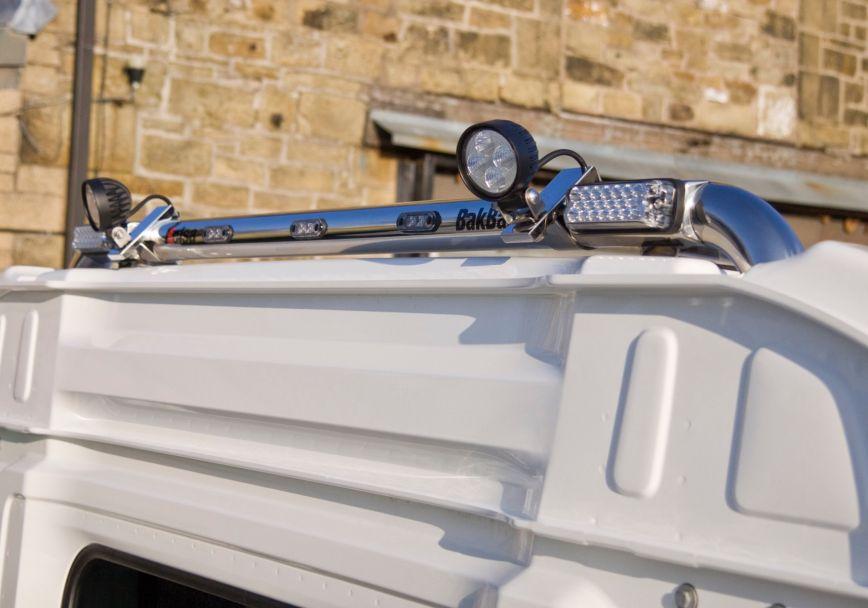 Zadní nerezový rám Kelsa BakBar pro  Mercedes Actros 2012-on Classic