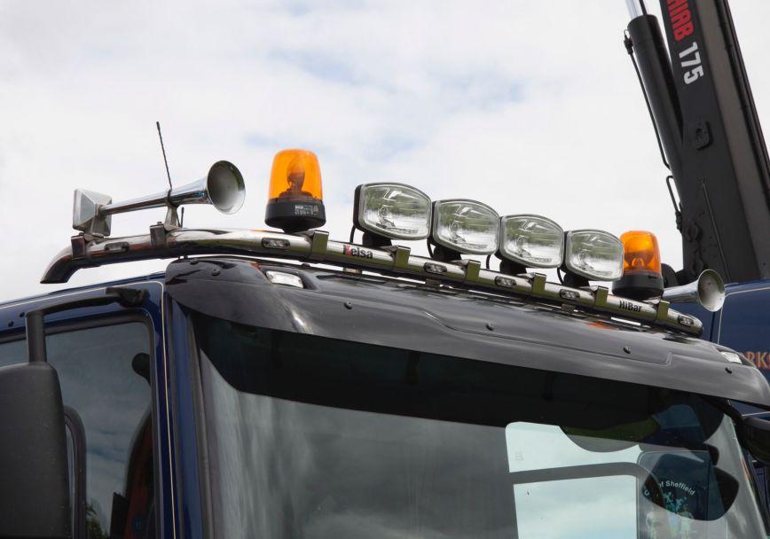 Střešní nerezový rám Kelsa HiBar pro  DAF CF Euro6 Denní kabina