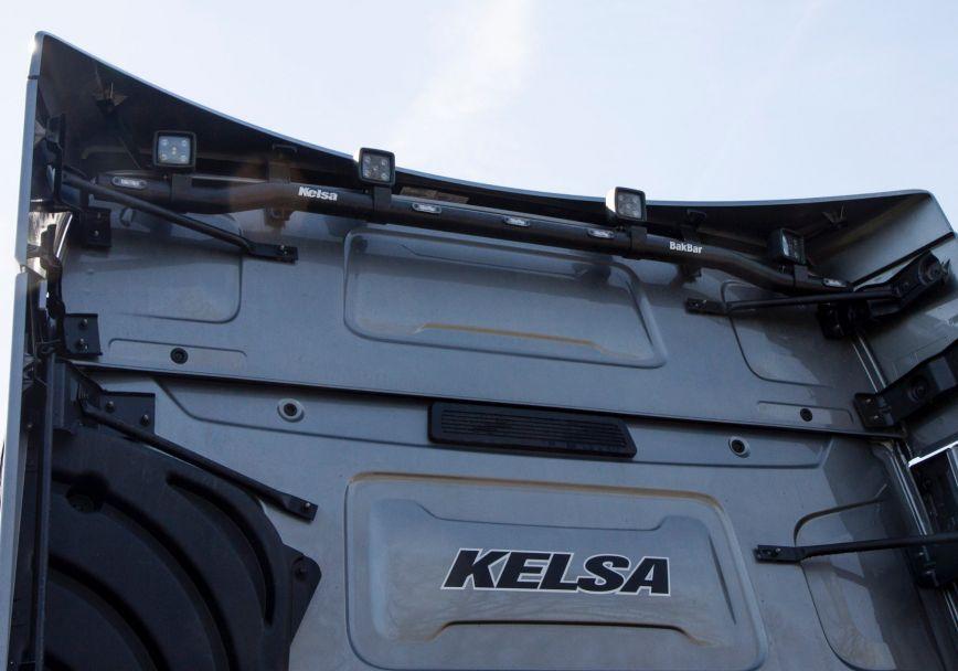 Zadní nerezový rám Kelsa BakBar pro  Renault T Range Long Haul Sleeper