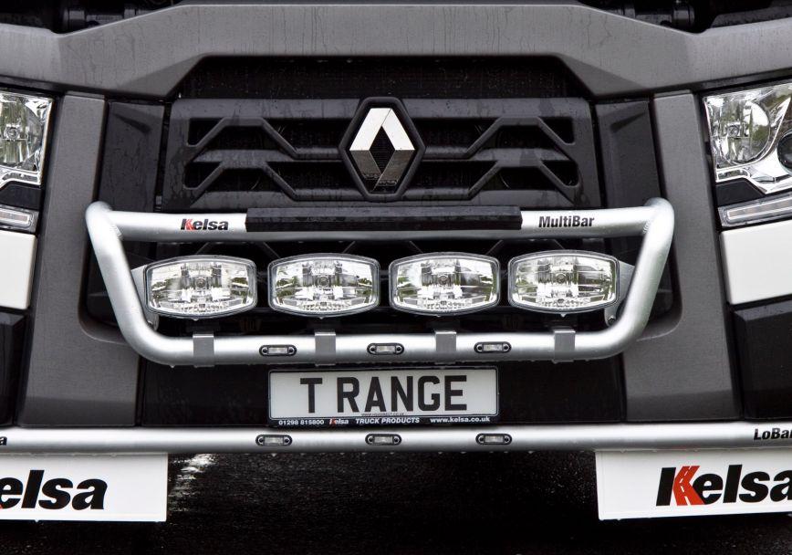 Přední nerezový rám Kelsa MultiBar pro  Renault T Range Long Haul Sleeper