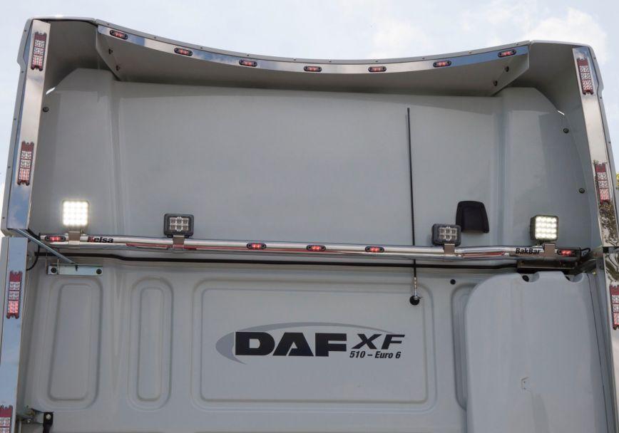 Zadní nerezový rám Kelsa BakBar pro  DAF XF106 Spacecab