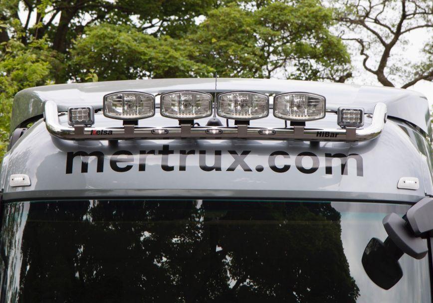 Střešní nerezový rám Kelsa HiBar pro  Mercedes Actros 2012-on Streamspace 2.3m