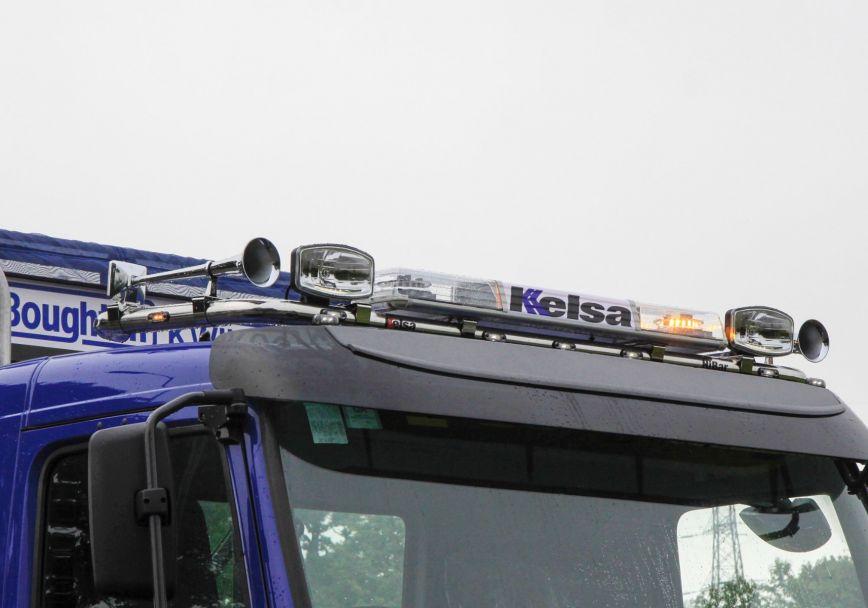 Střešní nerezový rám Kelsa HiBar pro  Volvo FM Euro6 Daycab