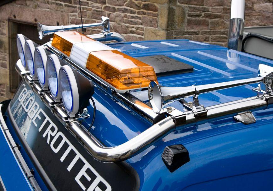 Střešní nerezový rám Kelsa BeaconBar pro  Volvo Euro 6 FMX Globetrotter