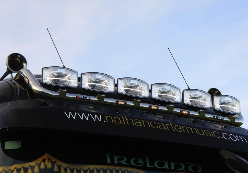 Střešní nerezový rám Kelsa HiBar pro  Renault T Range Long Haul Sleeper