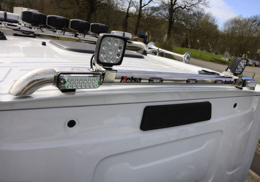 Zadní nerezový rám Kelsa BakBar pro  Renault C Range Standard
