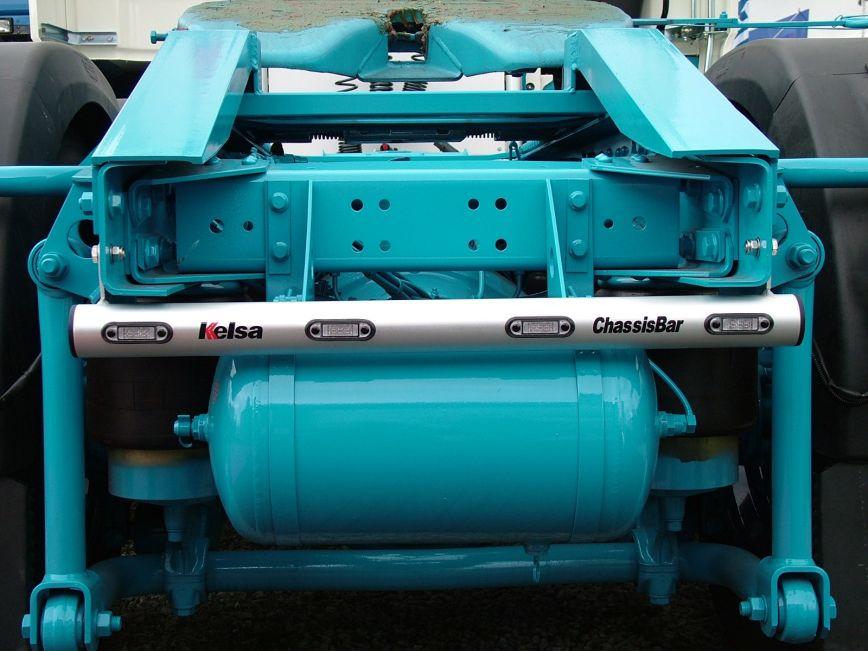 Zadní nerezový rám Kelsa ChassisBar pro  DAF XF106 Facelift Superspace