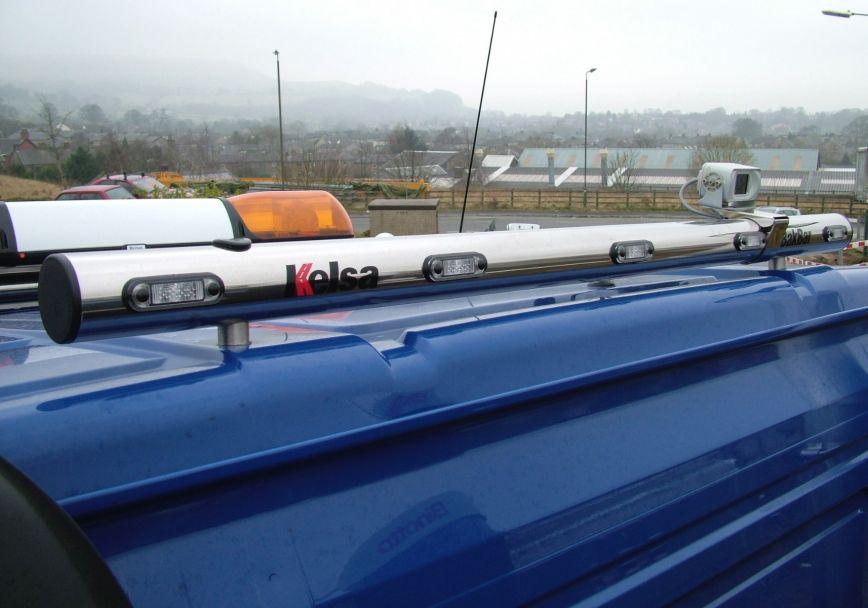 Zadní nerezový rám Kelsa BakBar VB02 pro  Volvo Euro 6 FMX Day Cab