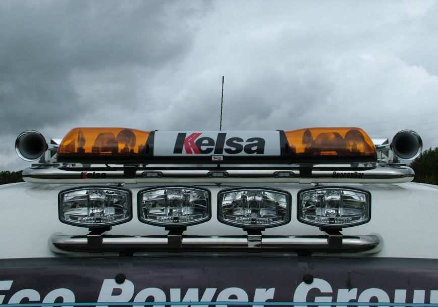 Střešní nerezový rám Kelsa HiBar Visor Mount pro  Man TGX XXL
