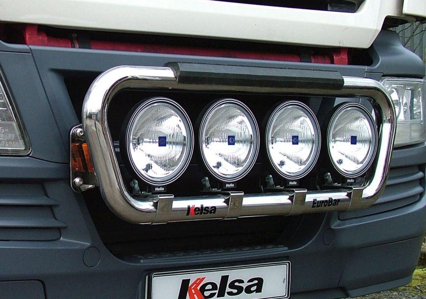 Přední nerezový rám Kelsa EuroBar pro  Man TGS M, L, LX Kabina