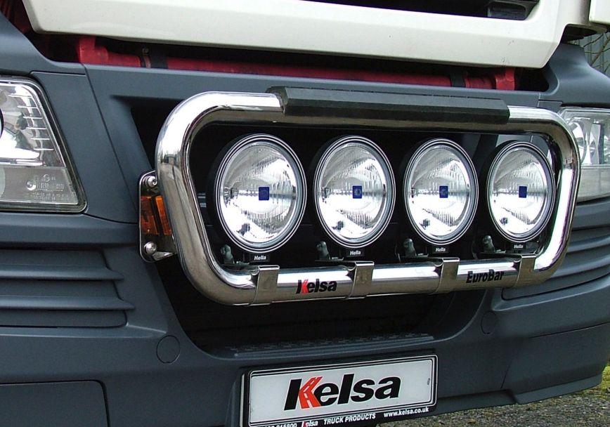 Přední nerezový rám Kelsa EuroBar pro  Man TGX XXL