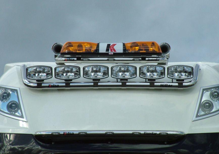 Střešní nerezový rám Kelsa HiBar pro  DAF XF106 Facelift Superspace