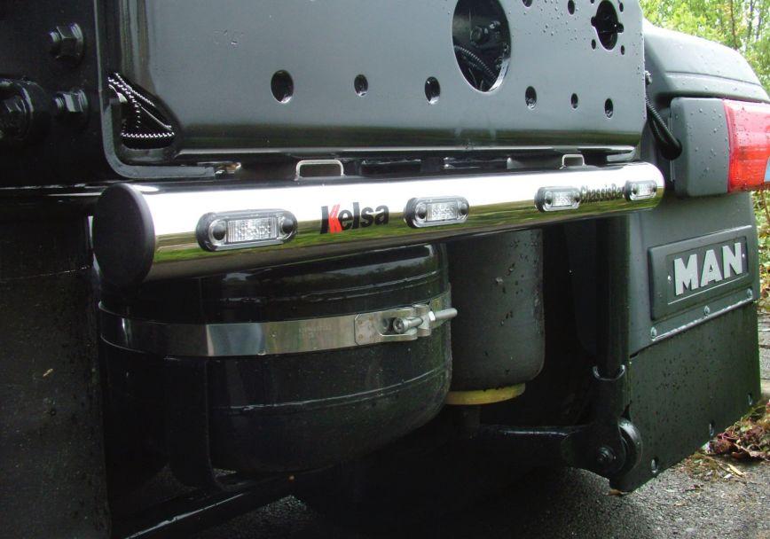 Zadní nerezový rám Kelsa ChassisBar pro  Man TGX Euro6 XL