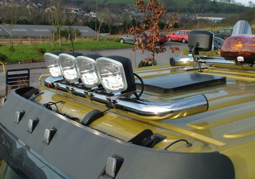 Střešní nerezový rám Kelsa HiBar Narrow pro  Volvo Euro 6 FMX Day Cab