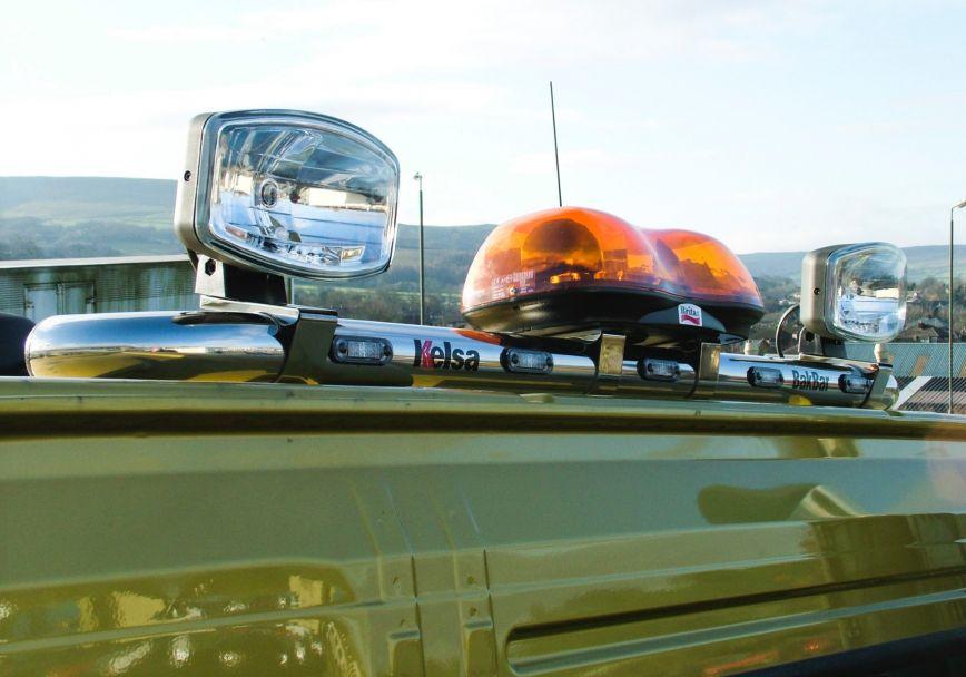 Zadní nerezový rám Kelsa BakBar Standard pro  Volvo FM Euro6 Daycab