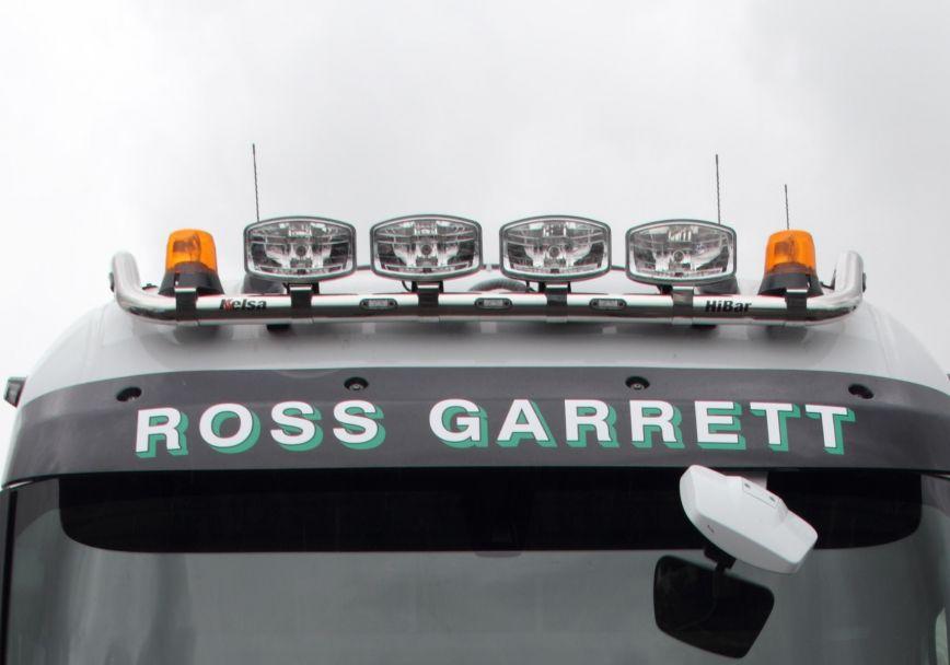 Střešní nerezový rám Kelsa HiBar High mount pro  Renault T Range Long Haul Sleeper