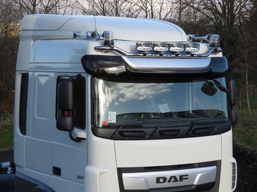 Střešní nerezový rám Kelsa HiBar DH16 pro  DAF XF106 Facelift Spacecab