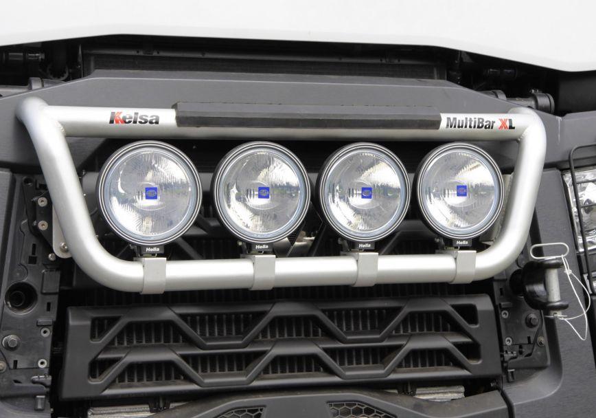 Přední nerezový rám Kelsa MultiBarXL High mount pro  Renault C Range Standard