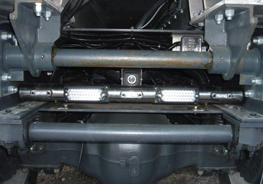 Zadní nerezový rám Kelsa ChassisBar pro  Volvo Euro 6 FMX Day Cab