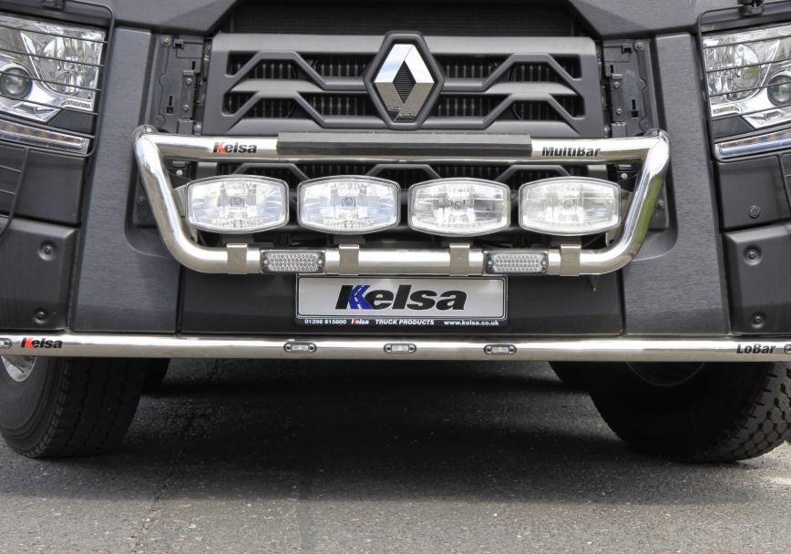 Přední nerezový rám Kelsa MultiBar pro  Renault C Range Standard