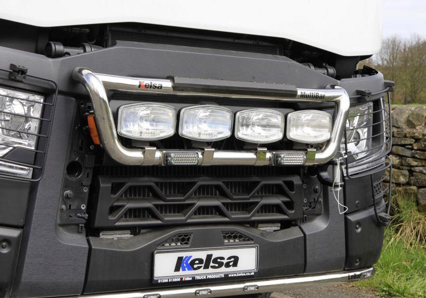 Přední nerezový rám Kelsa MultiBar High mount pro  Renault C Range Standard