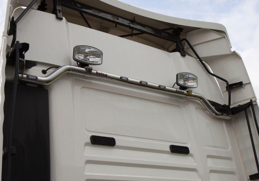 Zadní nerezový rám Kelsa BakBar pro  Man TGX Euro6 XLX