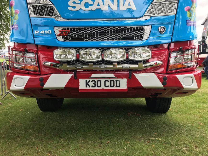 Přední nerezový rám Kelsa MiniBarXT pro  Scania Next Generation R&S Vysoká kabina
