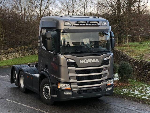 Střešní nerezový rám Kelsa HiBar (Úzký visor mounted) pro  Scania Next Generation R&S Střední kabina