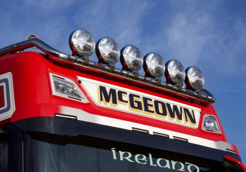 LED Nameboard Next Gen. Scania High Cab WIDE STYLE