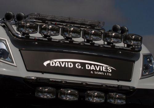 LED Nameboard DAF XF105/6