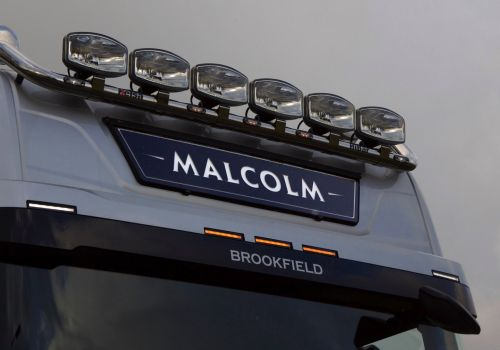 LED Nameboard Next Gen. Scania High Cab NARROW STYLE