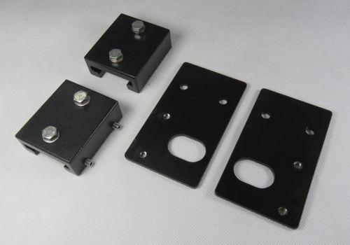 Airhorn mounting brackets