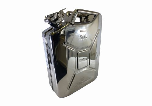 20 Litre Stainless Steel Jerry Can